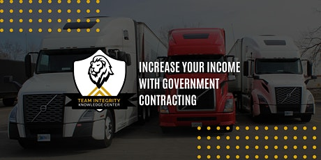Increase Your Income with Government Contracting tickets