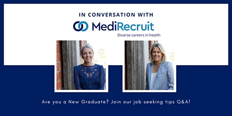 In conversation with MediRecruit... for Graduate Physiotherapists tickets