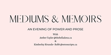 Mediums and Memoirs tickets