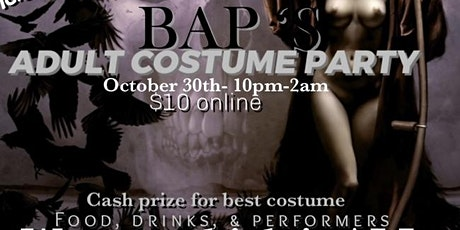 Halloween Party (Costume Party)ADULTS tickets