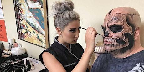 Skull Basics - Halloween Makeup Lesson tickets