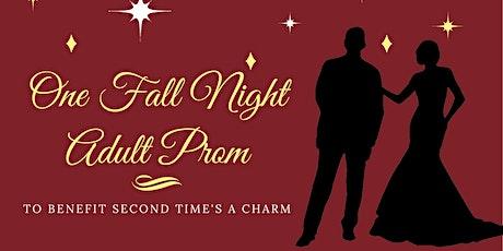 One Fall Night Adult Prom tickets
