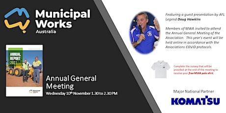 Municipal Works Australia Annual General Meeting tickets