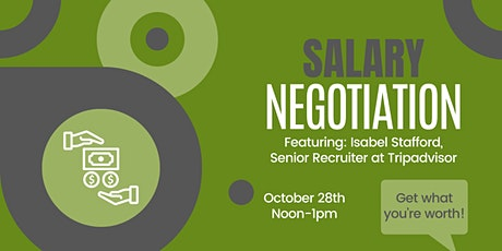 Salary Negotiation Workshop tickets
