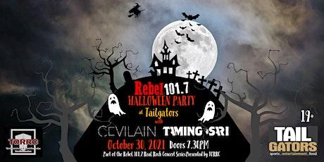 Rebel 101.7 Halloween Party! tickets