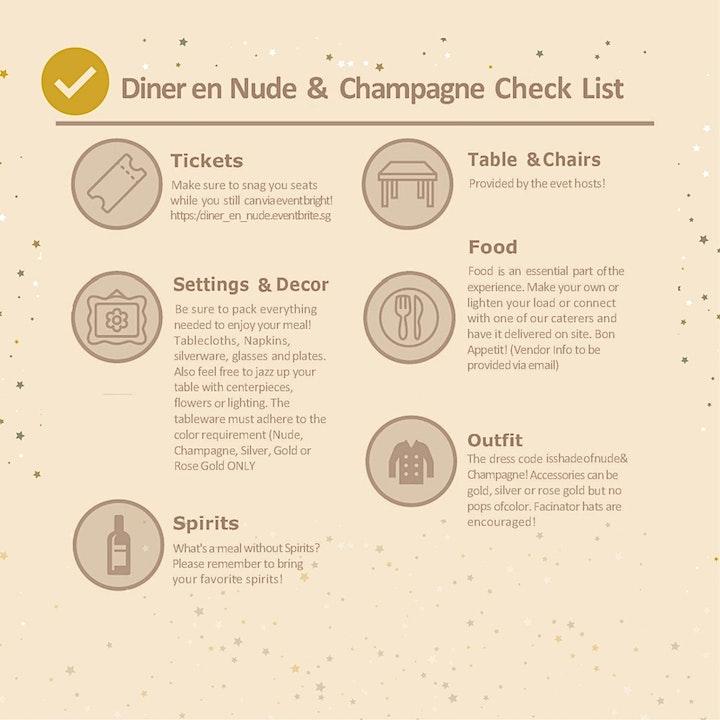 Diner en Nude & Champagne image