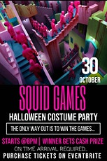 Squid Games Halloween Party 2021 tickets