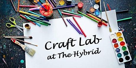 Craft Lab - Oct 27 (evening class) tickets
