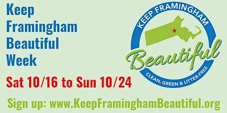 Keep Framingham Beautiful Week tickets