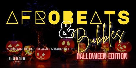Afrobeats & Bubbles Sunday Brunch Halloween Edition tickets
