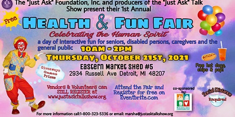 """The """"Just Ask"""" Health and Fun Fair tickets"""