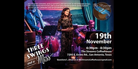 A Night of Jazz and coffee with Three Swings and a Miss tickets