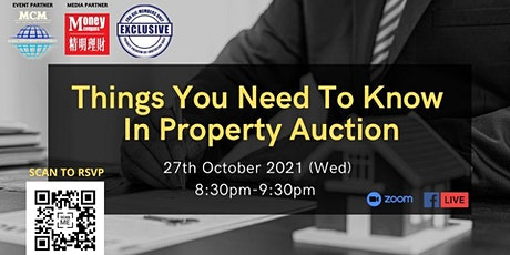 Things You Need To Know In Property Auction tickets