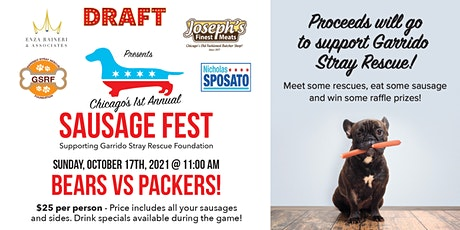 1st Annual Chicago Sausage Fest supporting Garrido Stray Rescue Foundation tickets