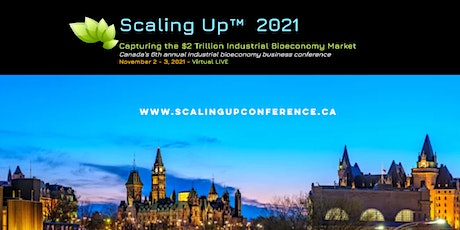 Scaling Up 2021-  Capturing the $2 Trillion Industrial Bioeconomy Market Tickets