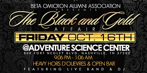 BOAA Presents The Black and Gold Affair