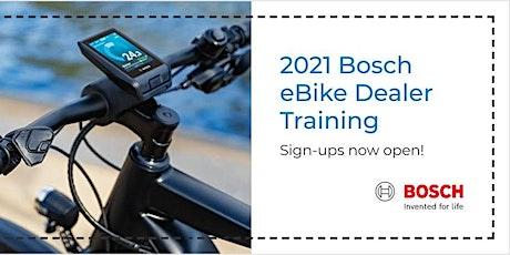 Bosch eBike Systems MY21Dealer Training Webinar tickets