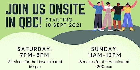 English Sunday Service (17 Oct) tickets