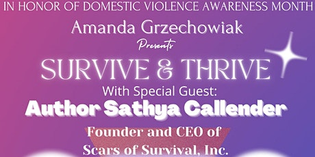 Survive & Thrive: Empowering Victims of Domestic Violence tickets