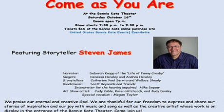 Come As You Are Event (by Judy Donley) tickets
