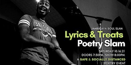 Jambalaya Soul Slam Lyrics & Treats Poetry Slam tickets
