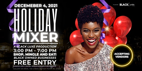 Black Luxe Holiday Mixer tickets