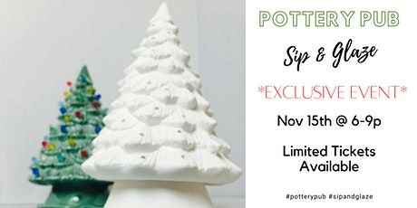 Pottery Pub | The Goat Brewing Co | Christmas Tree tickets
