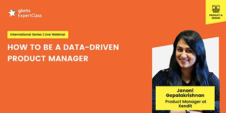 GEC International -  How to Be a Data-Driven Product Manager tickets