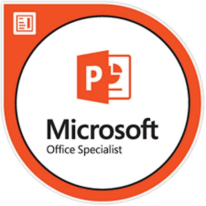 MICROSOFT POWERPOINT 365 WITH MICROSOFT SPECIALIST POWERPOINT CERTIFICATION image