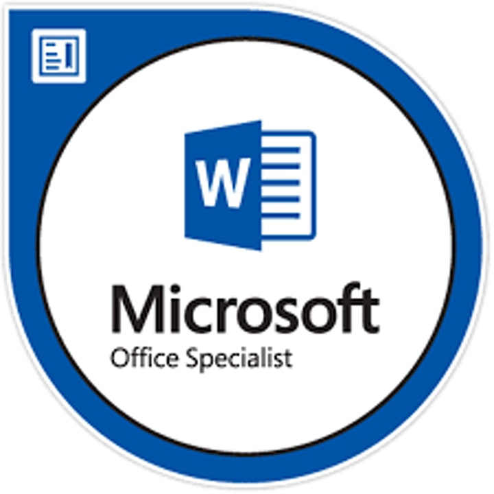 MICROSOFT WORD 365 WITH MICROSOFT OFFICE SPECIALIST WORD CERTIFICATION image