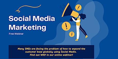 Free Webinar: Social Media Marketing tickets