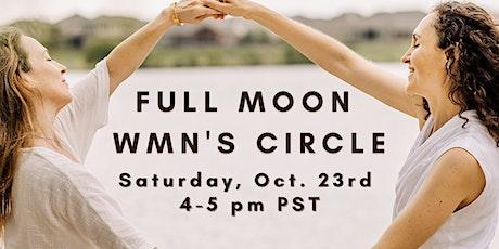 October Full Moon Wmn Circle ✨ tickets