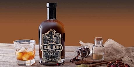 Illegal Tender Rum Co & Stableviews Distillery & Emerald Room Tasting Night tickets