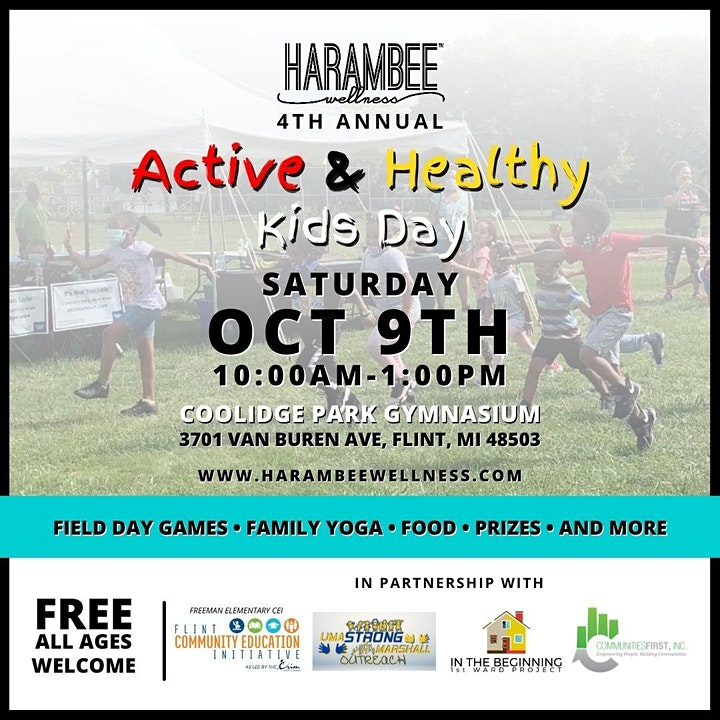 Active and Healthy Kids Day 2021 image