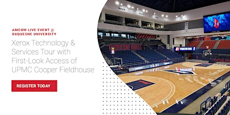 AmCom Technology Tour with First-Look Access of DUQ UMPC Cooper Fieldhouse tickets