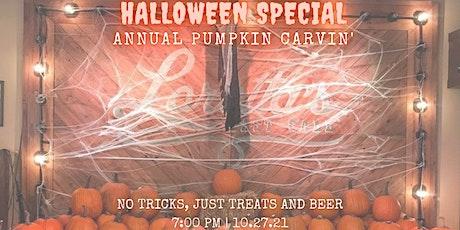 Halloween Pumpkin Carving Night tickets