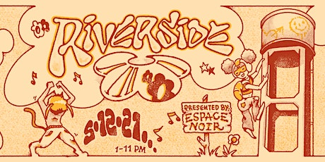 Espace Noir: Riverside - Warehouse Day Party tickets
