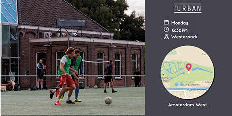FC Urban Match AMS Mon 18:30 Westerpark tickets