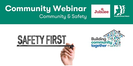 Jubilee Community Webinar: Community and Safety tickets