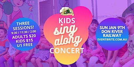 KIDS sing along CONCERT tickets