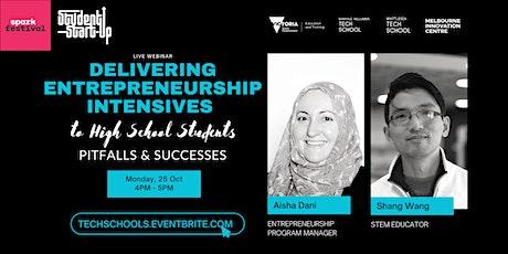 Delivering Entrepreneurship Intensives to Students: Pitfalls & Successes tickets