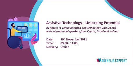 Assistive Technology - Unlocking Potential tickets