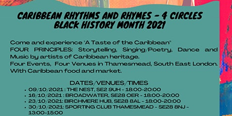 Caribbean Rhythms & Rhymes - 4 Circles tickets