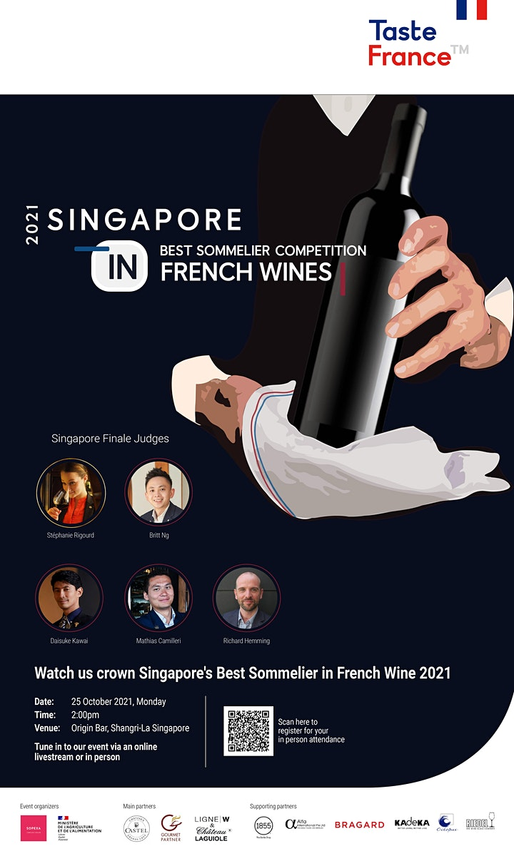 Singapore's Best Sommelier Competition in French Wine 2021 image