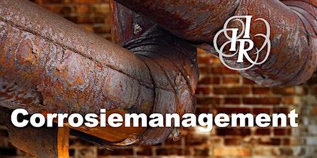Corrosiemanagement | September 2021 | start 22 september Amsterdam tickets