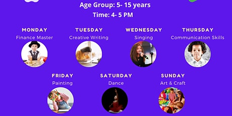 Fun Park Co-curricular Activity Workshops for 5-15 Years Old tickets