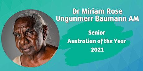 Talk with Senior Australian of the Year 2021 - Rescheduled Seniors Event tickets