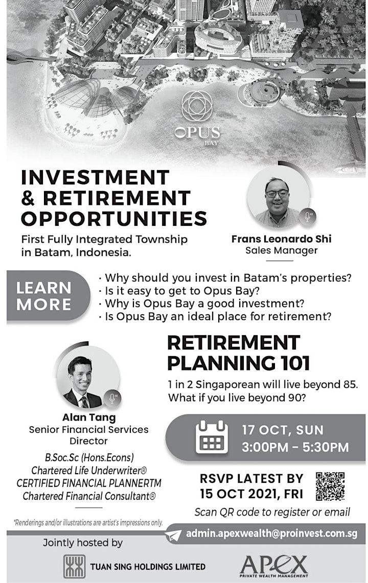 Investment & Retirement Opportunities image