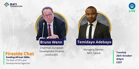 Funding African SMEs: The Role of DFI's and Developmental Agencies tickets