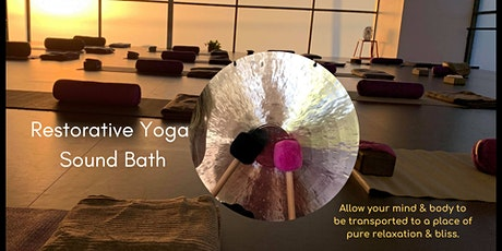 Restorative Yoga Sound Bath tickets